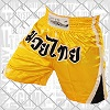 FIGHT-FIT - Muay Thai Shorts / Gelb / Large