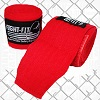 FIGHTERS - Boxbandagen / 300 cm / Elastisch / Rot