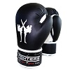 FIGHTERS - Kinder Boxhandschuhe / Attack / 6 oz / Schwarz