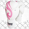 FIGHTERS - Boxhandschuhe / Lady Style / Weiss-Pink / 10 oz
