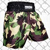 FIGHTERS - Muay Thai Shorts / Warrior / Camouflage / Large