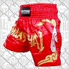 FIGHTERS - Muay Thai Shorts / Rot-Gold / Large
