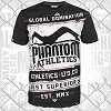 Phantom - Athletics T-Shirt / Walkout / Schwarz-Weiss / Medium