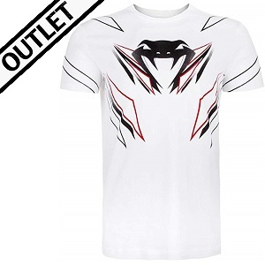 Venum - T-Shirt / Shockwave 4.0 / Weiss / Medium