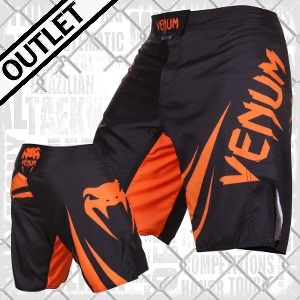 Venum - Fightshorts MMA Shorts / Challenger / Schwarz-Orange / Medium